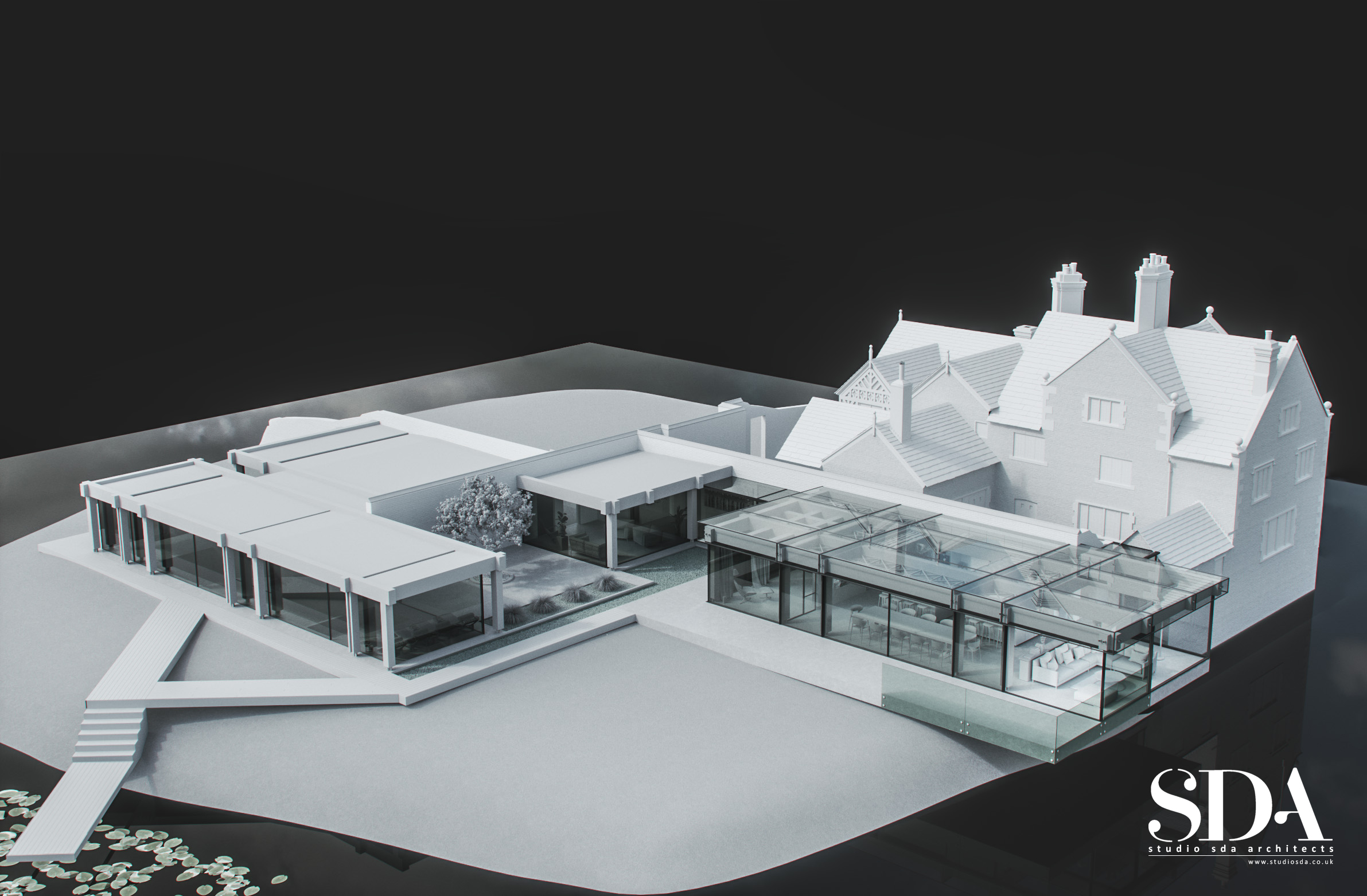 Model of Grade 2 Old Hall Project
